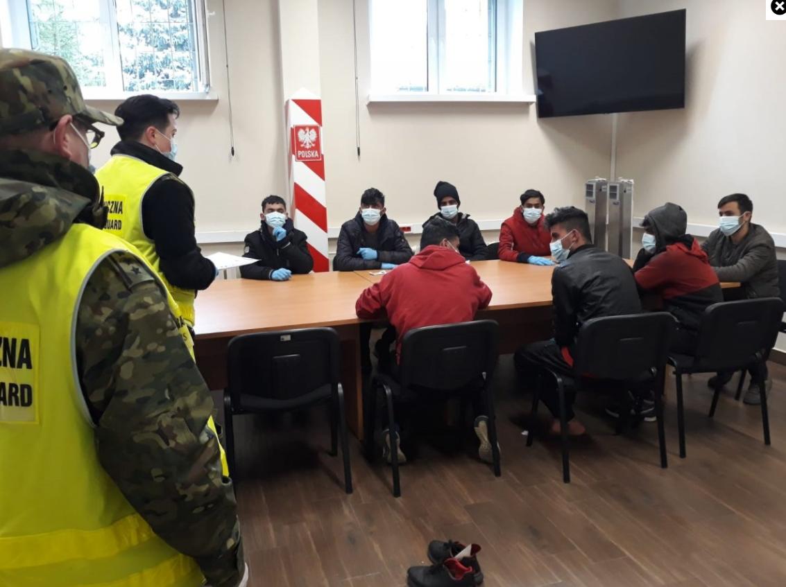 Muzułmanie zatrzymani w Olsztynie.